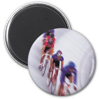 Cycling Track Race Bicycle Cycle Bicycling Refrigerator Magnets