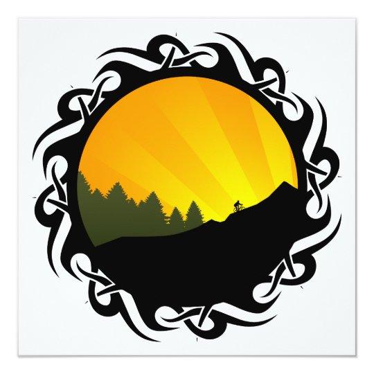 cycling : tribal mountain rayz card