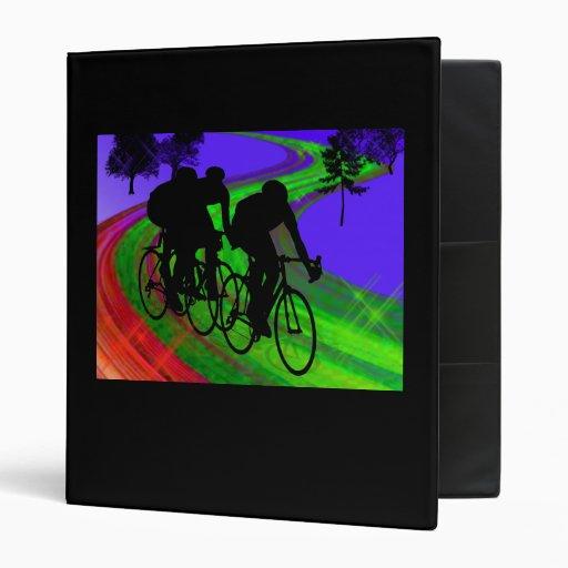 Cycling Trio on Ribbon Road Binders