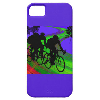 Cycling Trio on Ribbon Road iPhone 5 Case