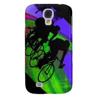Cycling Trio on Ribbon Road Galaxy S4 Case