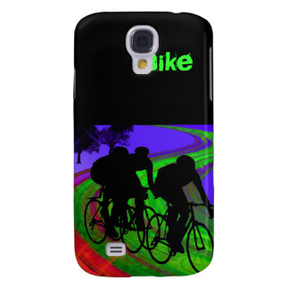 Cycling Trio on Ribbon Road Galaxy S4 Case