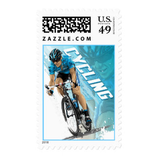 Cycling U.S. Postage Stamps