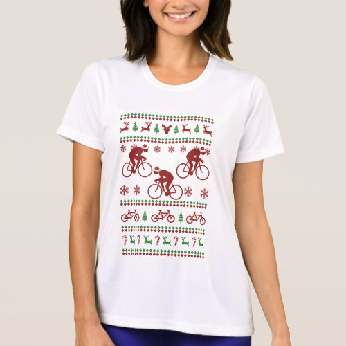 Cycling Ugly Christmas Sweater After Christmas Sales 5132