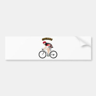 Cycling without Text Bumper Sticker
