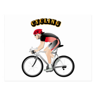 Cycling without Text Postcard
