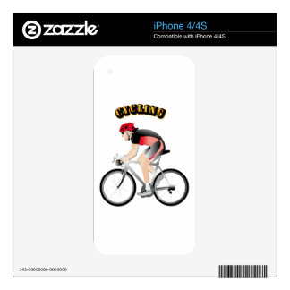 Cycling without Text Decal For iPhone 4S