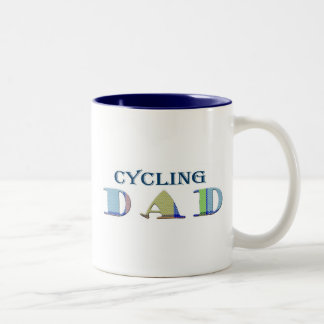CyclingDad Two-Tone Coffee Mug