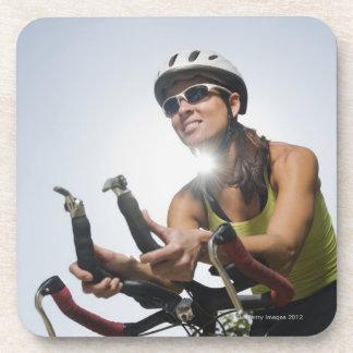 Cyclist 2 beverage coaster