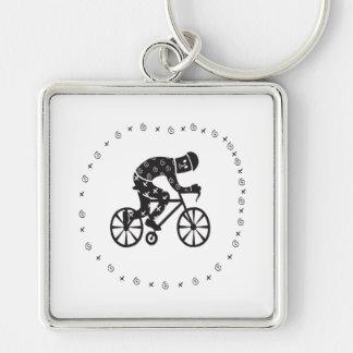 Cyclist 2 keychains