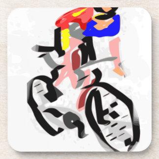 Cyclist 30122017 01 beverage coaster