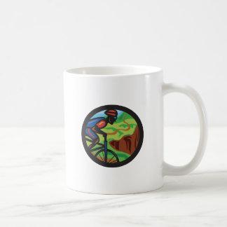 Cyclist 3 coffee mug