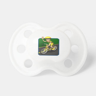 Cyclist 4 pacifier