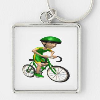 Cyclist 5 keychain