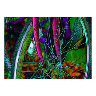 cyclist/bike business card
