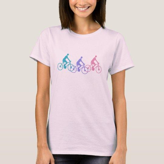 Cyclist Bike Riding Bikes Silhouette Shirt