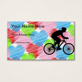 Cyclist Business Card