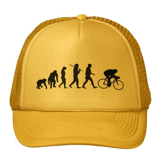 Cyclist Cycling Bicycle Riders Cycle Trucker Hat