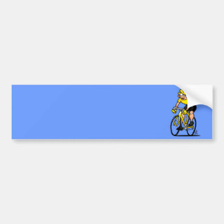 Cyclist - Cycling Bumper Sticker