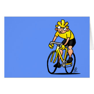 Cyclist - Cycling Card