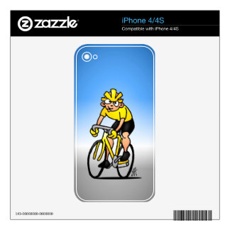 Cyclist - Cycling Decals For The iPhone 4S