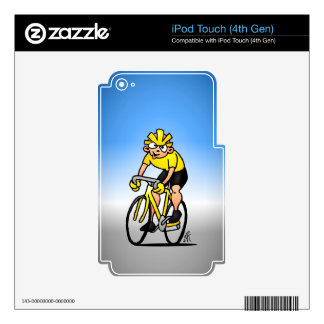 Cyclist - Cycling iPod Touch 4G Decals