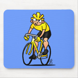 Cyclist - Cycling Mouse Pad