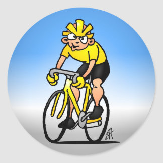 Cyclist - Cycling Stickers
