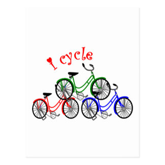 Cyclist Gifts (Bicycling) design Postcard