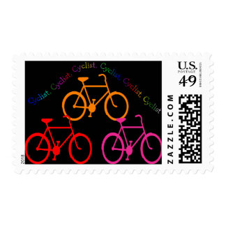 Cyclist Gifts, Biking Mania! Stamp