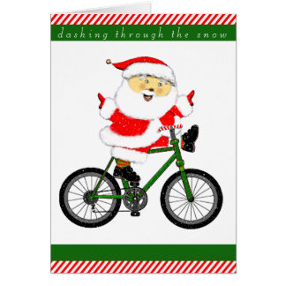 cyclist holiday cards