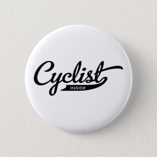 cyclist inside button