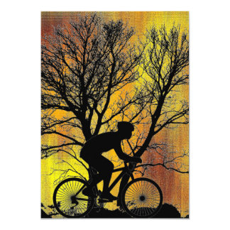 Cyclist Invitation