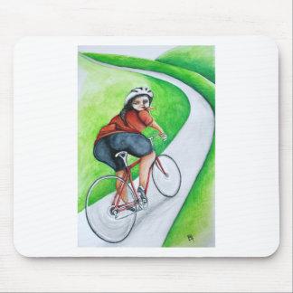 Cyclist - Kiss Goodbye Mouse Pad