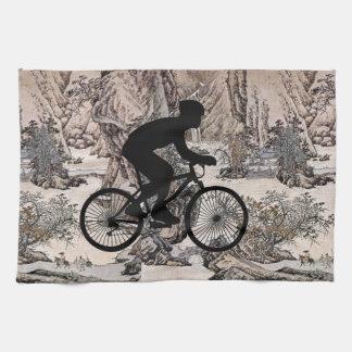Cyclist Kitchen Towel