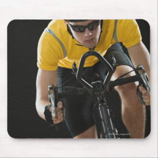 Cyclist Mouse Pad