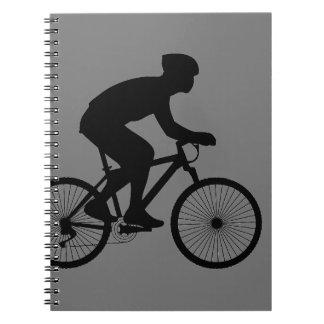 Cyclist Spiral Note Book