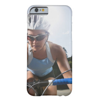 Cyclist on mountain road barely there iPhone 6 case