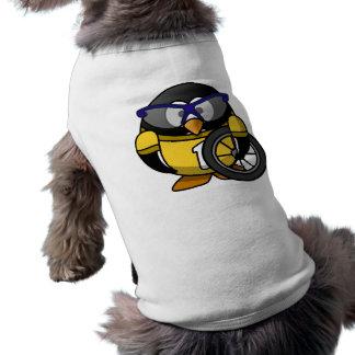 Cyclist penguin shirt
