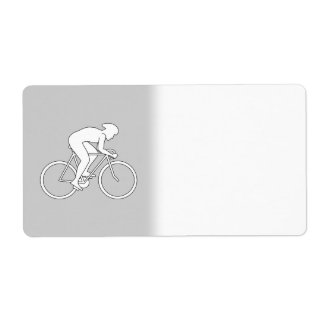 Cyclist Racer. Label