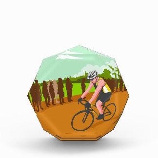 Cyclist Racing WPA Award