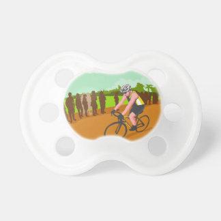 Cyclist Racing WPA Pacifier