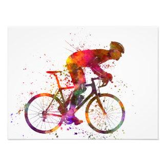 cyclist road bicycle arte fotografico