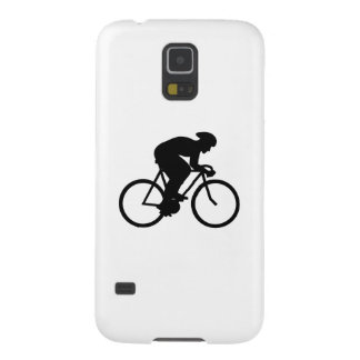 Cyclist Silhouette. Case For Galaxy S5