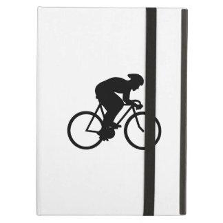 Cyclist Silhouette. iPad Air Cover
