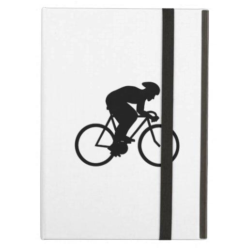 Cyclist Silhouette. iPad Covers