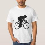 Cyclist Silhouette. T Shirt