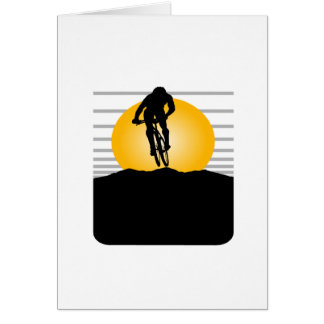 Cyclist T-shirts and Gifts. Card
