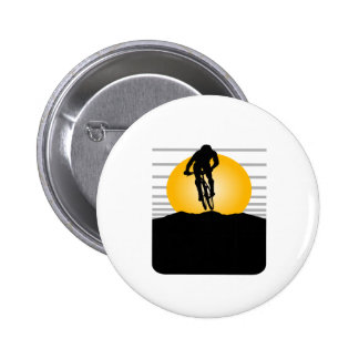 Cyclist T-shirts and Gifts. Pinback Button