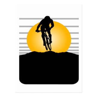 Cyclist T-shirts and Gifts. Postcard